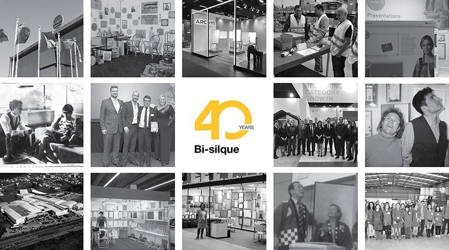 40 years anniversary Helping People communicate Bi-silque